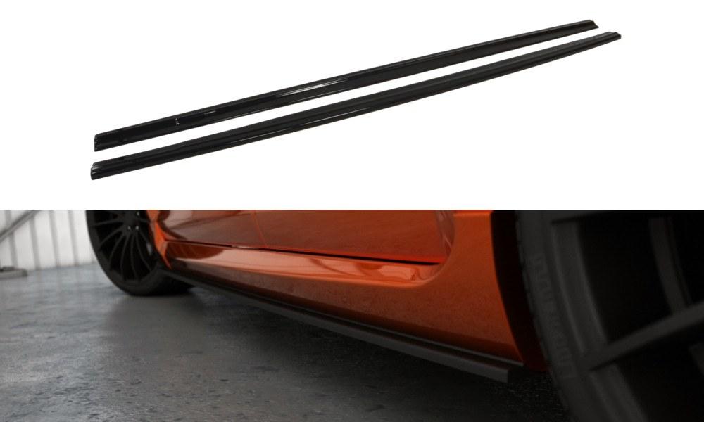 Dokładki Progów Ford Focus II ST Polift - GRUBYGARAGE - Sklep Tuningowy